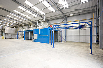 Polyester Powder Coating plant
